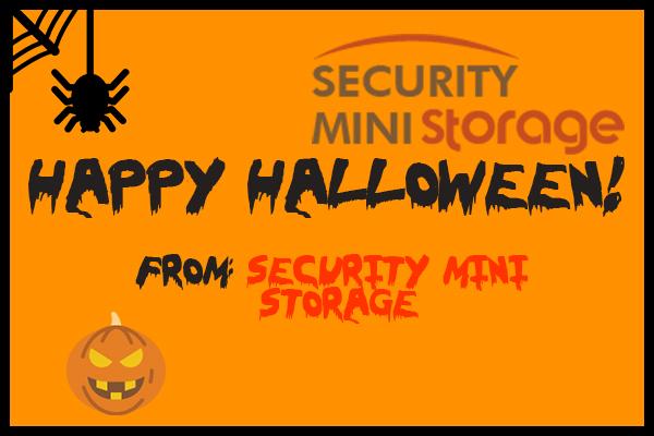 halloween, storage, security mini storage